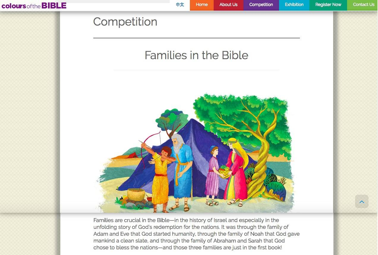 Colours of the Bible Competition