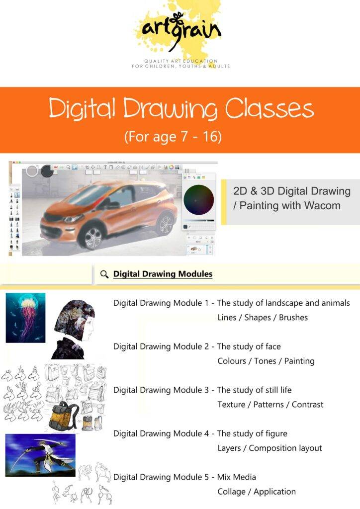 Digital Drawing Class