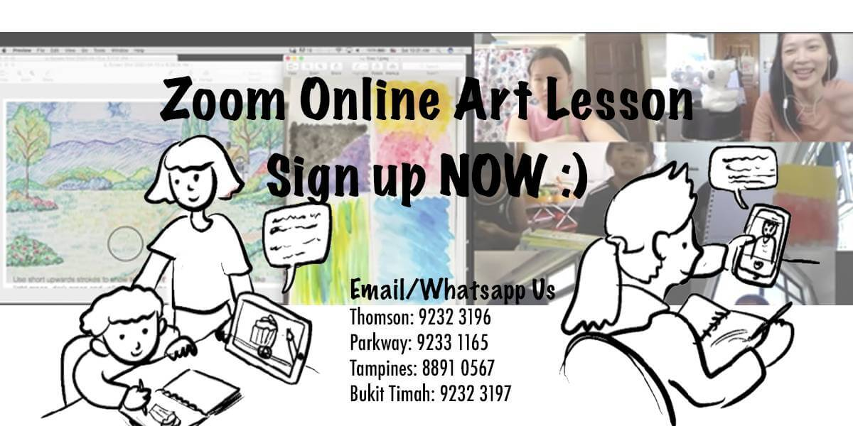 What's an online class at Artgrain Like?