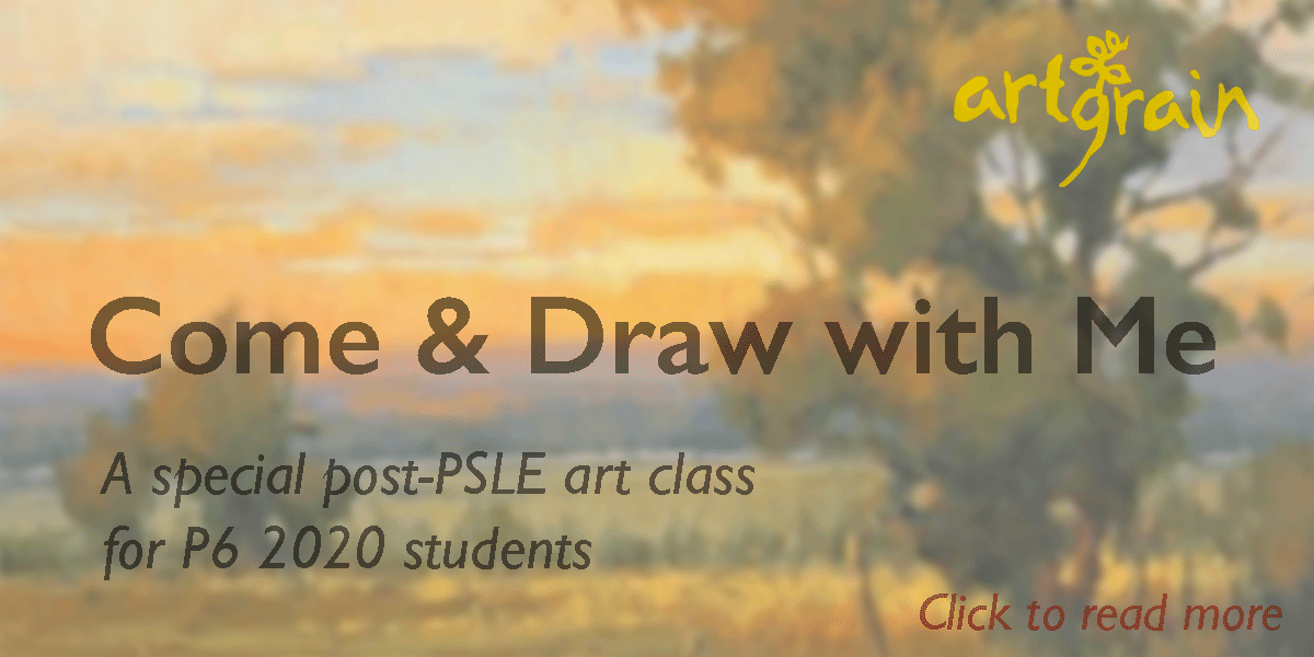 Come & Draw with Me!