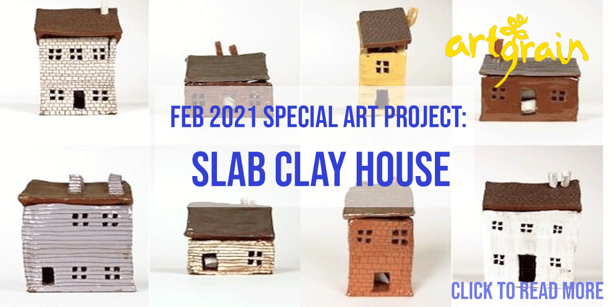 Feb 2021 Special Art Project: Slay Clay House