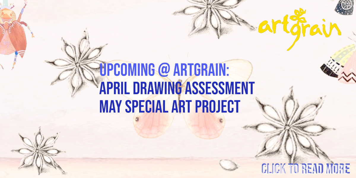 Upcoming April & May: Drawing Assessment & Special Art Project