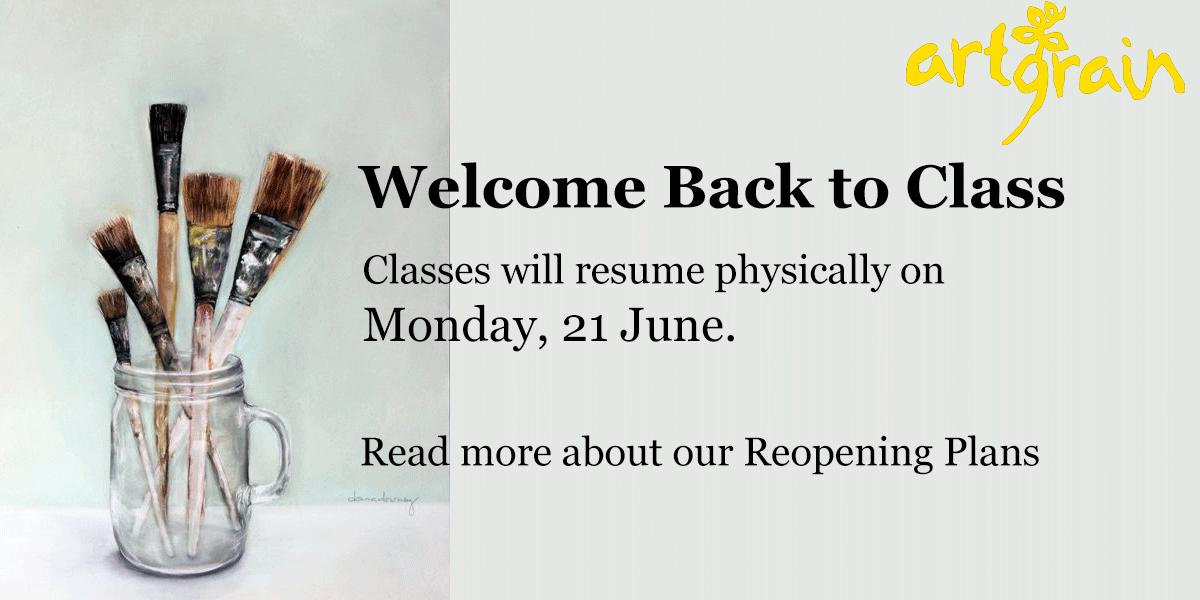 Classes Continue @ Artgrain
